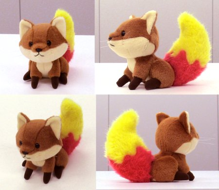 (Image: Final design Foxkeh toy)